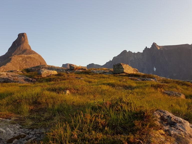 Romsdalshorn Trollveggen Litjefjellet